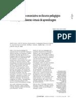 Artigo - 2008 - posição enunciativa no discurso pedagógico mediado por AVA - MUTTI AXT
