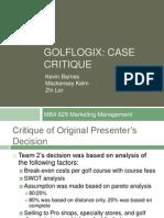 Golflogix critique