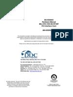 DDC MIL STD-1553 BU-65569 Hardware Manual
