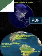 America Poblacion y Clima