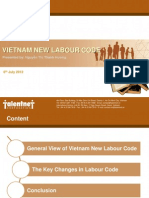 Vietnam New Labour Code