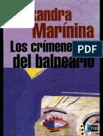 Los Crimenes Del Balneario - Alexandra Marinina