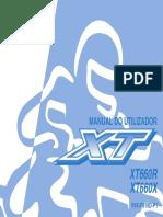 Manual Do Utilizador XT 660R