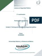 U3. Participación ciudadana y seguridad pública