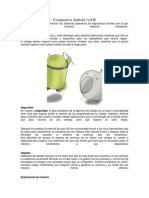 Comparativa Android vs iOS
