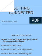 Getting Connected