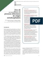 09.005 Uso empírico de antibióticos en procesos infecciosos de origen extrahospitalario