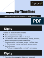 Dipity for Timelines