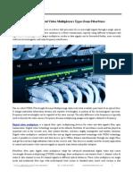 Fiber Optic Multiplexer Types Fiberstore