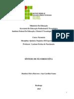 Síntese de fluoresceína (1)