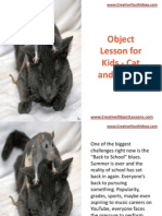 Object Lesson for Kids - Cat and Mouse