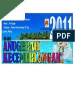 Banner Hari Anugerah Kecemrlangan 2011