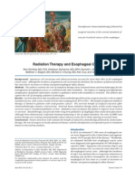 Radiation Therapy and Esophageal Cancer