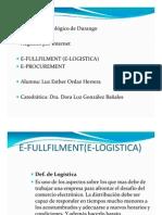 Microsoft Power Point e Fullfilment(e Logistic A)