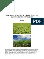 Ethanol Sugar Feasibility Report 3