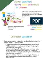 character education ii