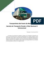 Transportistas Del Puerto de Maracaibo