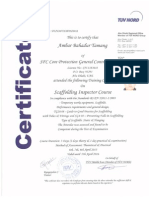 Scaffolding Certificates