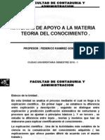 Material FCA Teoria Del Conocimiento Semestre 10-1