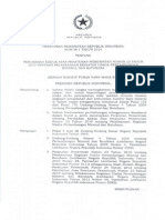 PERATURAN PEMERINTAH REPUBLIKINDONESIA  NOMOR 1 TAHUN 2014