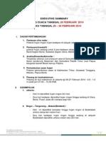 Form Briefing Cuaca Harian BMKG