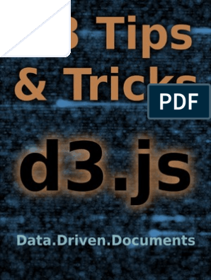 D3 Tips and Tricks pdf   Web Page   World Wide Web