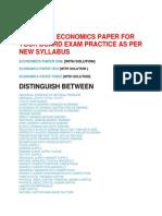 Economics Hsc
