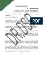 Industrial Relations & L.welfare