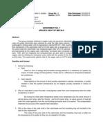 Experiment 8 (Formal Report)