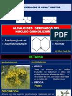 Alcaloides que acúan en sistema nervioso autónomo