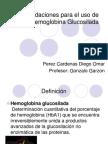 Hemoglobina Glicosilada Seminario