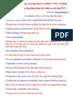 Advantages of Using Steel Conduit