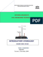 Cec 102 Theory- Introductory Hydrology