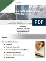 7x24 Nor Cal OM Best Practices Presentation Rev4 9-1-2011