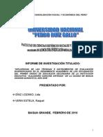 Tesis Sobre Instrumentos de Evaluacion