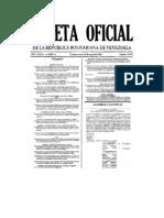Decreto Ley de Contrataciones Publicas 5.929 15-03-2008