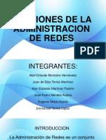 Funciones de La Administracion de Redes