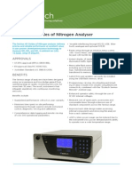 ECOTECH - Serinus 40. ANALYZER