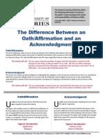 Oath-Affirmation vs Acknowledgment(3)