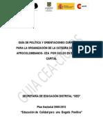 Guia de Polìtica y Orientaciones Curriculares para la organizaciòn de la CEA por ciclos.pdf