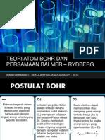 Penurunan Persamaan Rydberg dari Postulat Bohr