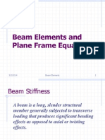Beams and Frames