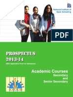 Prospectus 2013 14 NIOS