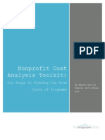 Bridgespan Nonprofit Cost Analysis Toolkit Complete