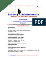 SchoolAdmissions.inAParentsGuideToDelhiNurseryKGSchoolAdmissions20122013