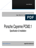Car Video Interface Porsche PCM2.1 Manual En