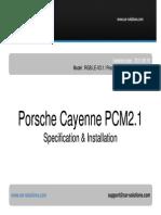 Car Video Interface Porsche PCM2.1 Manual En