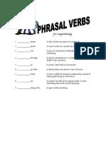 Neg Phrasal Verbs