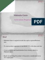 Mahindra Genio