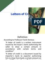 Letter of Credit - Copy